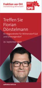 """""""SPD FRAKTION VOR ORT"""" – Treffen Sie Florian Dörstelmann und Raed Saleh @ Theater Jaro"""