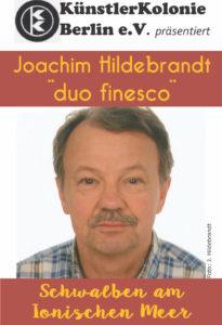 Schwalben am Ionischen Meer - Lesung mit Joachim Hildebrandt @ Theater Coupé