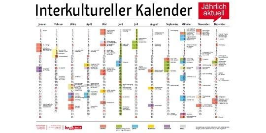 Interreligiöser Kalender 2021