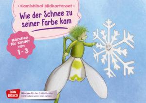"""Kamishibai - """"Wie der Schnee zu seiner Farbe kam"""" @ Gottfried-Benn-Bibliothek"""