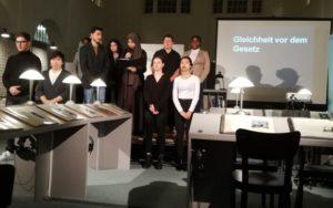 """""""Ob ich noch einmal wiederkomme?"""" Szenische Theatercollage über das Schicksal der jüdischen Familie Meyerowitz @ Aula der Theodor-Heuss-Gemeinschaftsschule"""