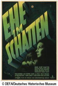 Ehe im Schatten -  D/DEFA, s/w, 104 Min., Spielfilm, Regie: Kurt Maetzig. @ Kinosaal im Rathaus Berlin-Schöneberg Anschluss an die Vorführung