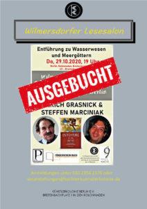 Wilmersdorfer Lesesalon - Entführung in die Antike @ KulturRaum der Künstlerkolonie Berlin