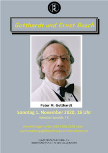 Gotthardt und Ernst Busch @ KulturRaum der Künstlerkolonie Berlin