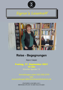 Sigrun's Lesetreff @ KunstRaum der Künstlerkolonie Berlin