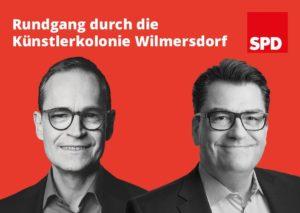 Besuch und Rundgang mit dem Regierenden Bürgermeister durch die Künstlerkolonie @ Künstlerkolonie Berlin