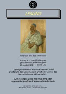 """""""Über das Bild des Menschen"""" @ KunstRaum der Künstlerkolonie Berlin"""